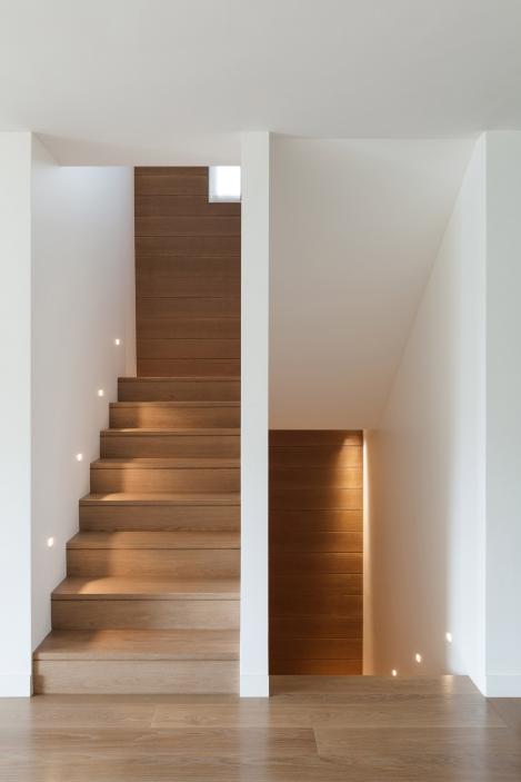 Habillage d'escalier à Halluin (Lille)