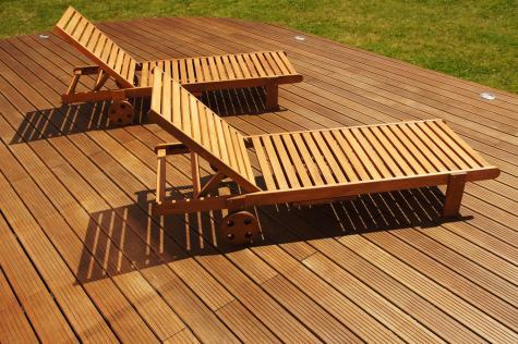 Pose de terrasse en bois à Halluin, Lille